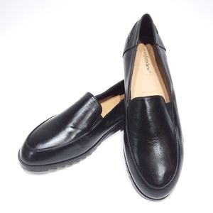 Comfortview casual black slip-on loafers size 11M